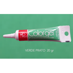 Colorante decorgel  20 gr  - MODECOR Verde Prato